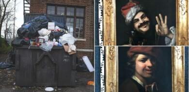 Dos pinturas del siglo XVII fueron encontradas en un contenedor de basura en Alemania