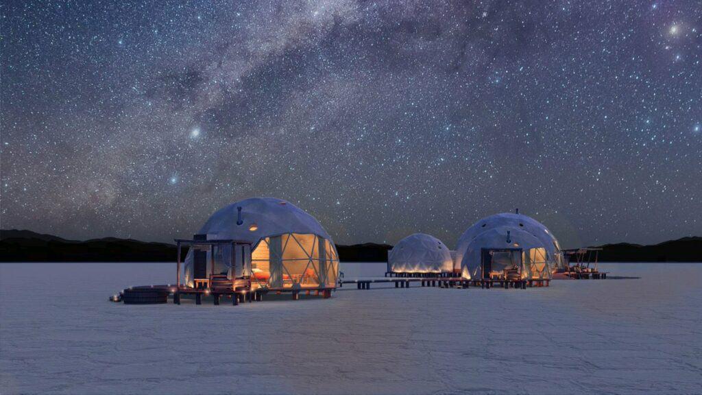 Dormir En Las Salinas Grandes, Una Experiencia Única En El Mundo Será Posible Gracias A Este Campamento De Lujo
