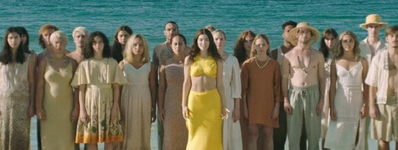 Lorde, Captura Del Video Solar Power
