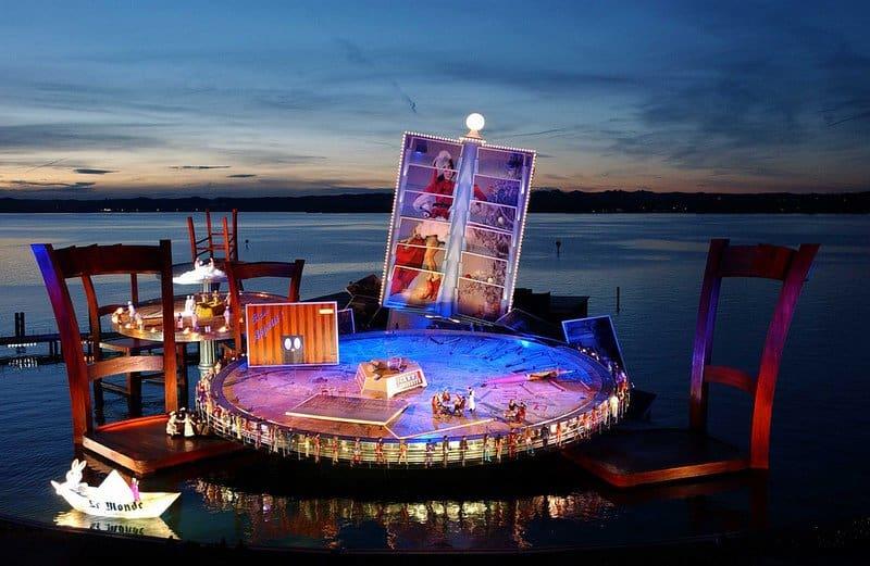 Anuncian Regreso Del Festival De Bregenz, El Imponente Espectáculo De Ópera Sobre El Lago Constanza