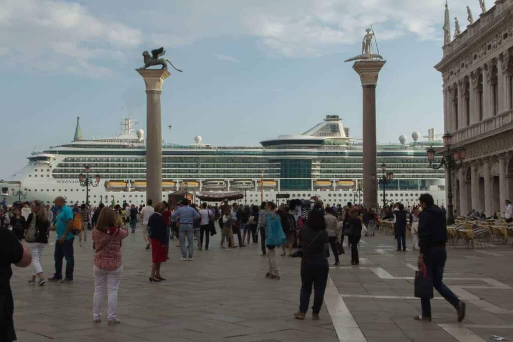 Venecia, Crucero