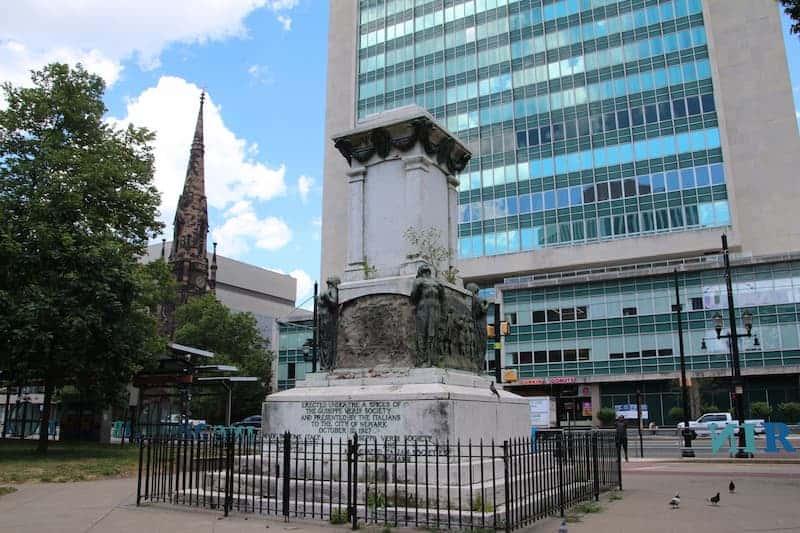 Lugar Donde Se Encontraba La Estatua De Cristóbal Colón Y Será Ocupado Por Una Estatua De Harriet Tubman