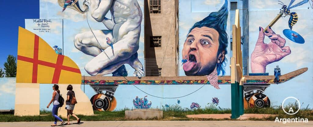 Lugares Que Visitar En Buenos Aires: Arte Urbano: Grafftis Y Murales.