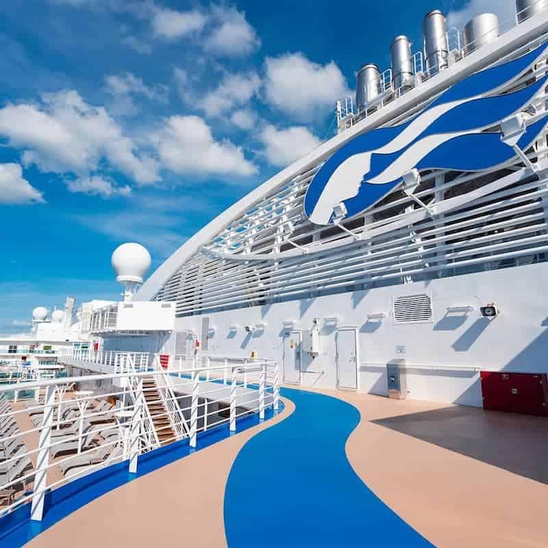 Crucero De Princess Cruises Desde Arriba