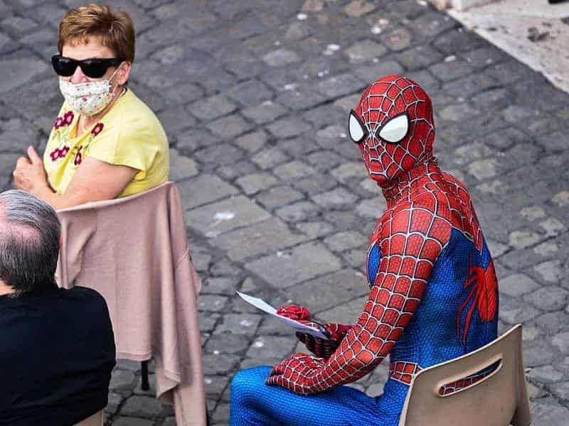 Spiderman En La Audiencia General Del Papa Francisco