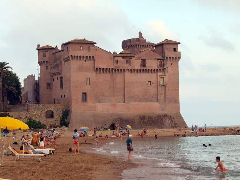 Playas Cerca De Roma: Santa Severa