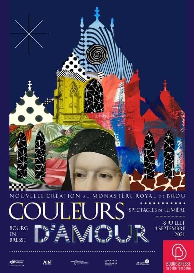 Imagen Couleurs D'Amour En Bourg-En-Bresse Couleursdamour Francia Show De Luces