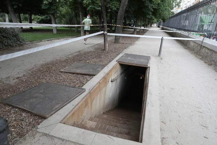 Madrid: Un Refugio Antiaéreo Del Parque Del Retiro De La Época De La Guerra Civil Se Abrirá Al Público Por Primera Vez