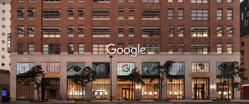 Primera Tienda Física De Google, En Chelsea, Nyc