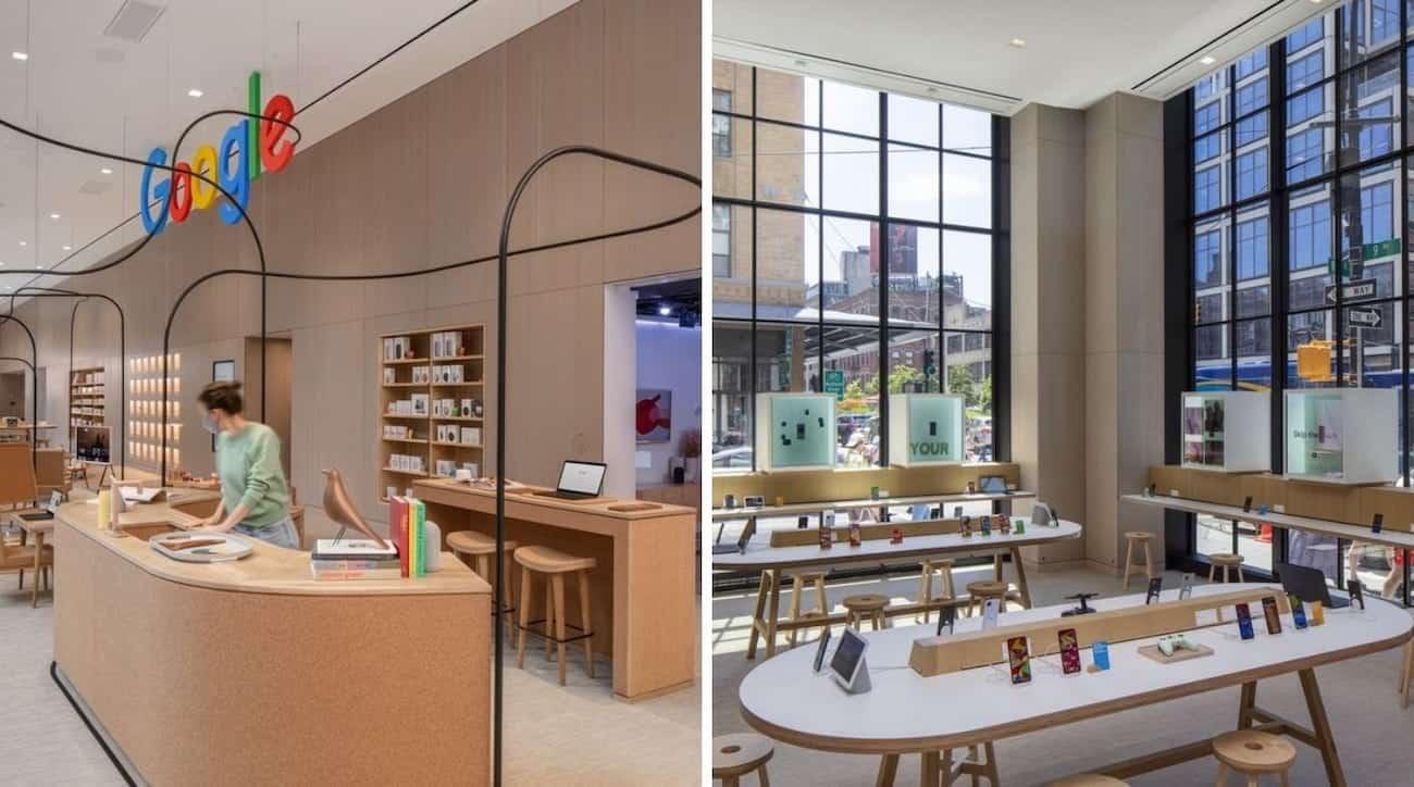 La primera tienda física de Google abrió sus puertas en la ciudad de Nueva York, Estados Unidos