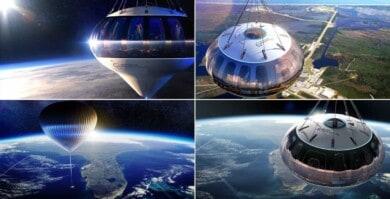 Es posible viajar al espacio y el pasaje tiene un costo de 125.000 dólares