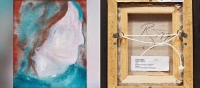 Una pintura de David Bowie estaba en un vertedero, fue comprada por 5 dólares y se vendió por casi 88.000