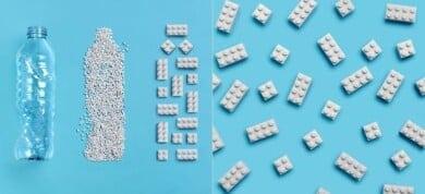 LEGO comienza a crear sus bloques con plástico reciclado