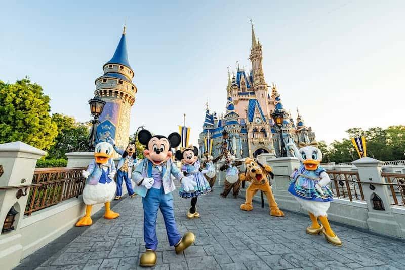 Elenco De Disney En Walt Disney World
