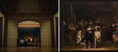 Una pintura de Rembrandt fue restaurada utilizando tecnología con Inteligencia Artificial