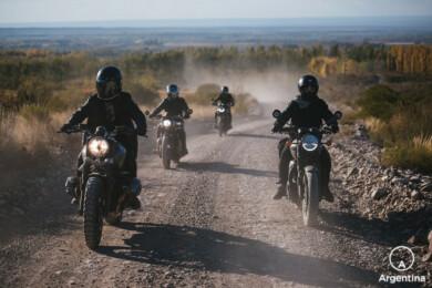 motos en la ruta