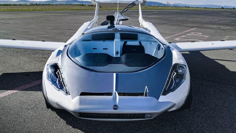 Auto Volador Completa Vuelo Entre Dos Aeropuertos