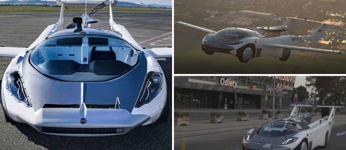 Un auto volador completó de forma exitosa un vuelo de prueba entre dos aeropuertos