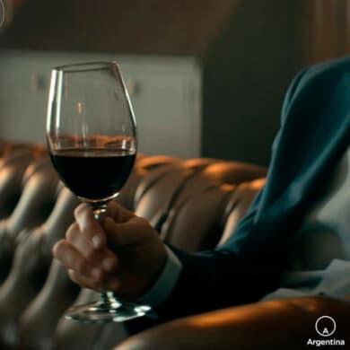 persona sosteniendo copa de vino