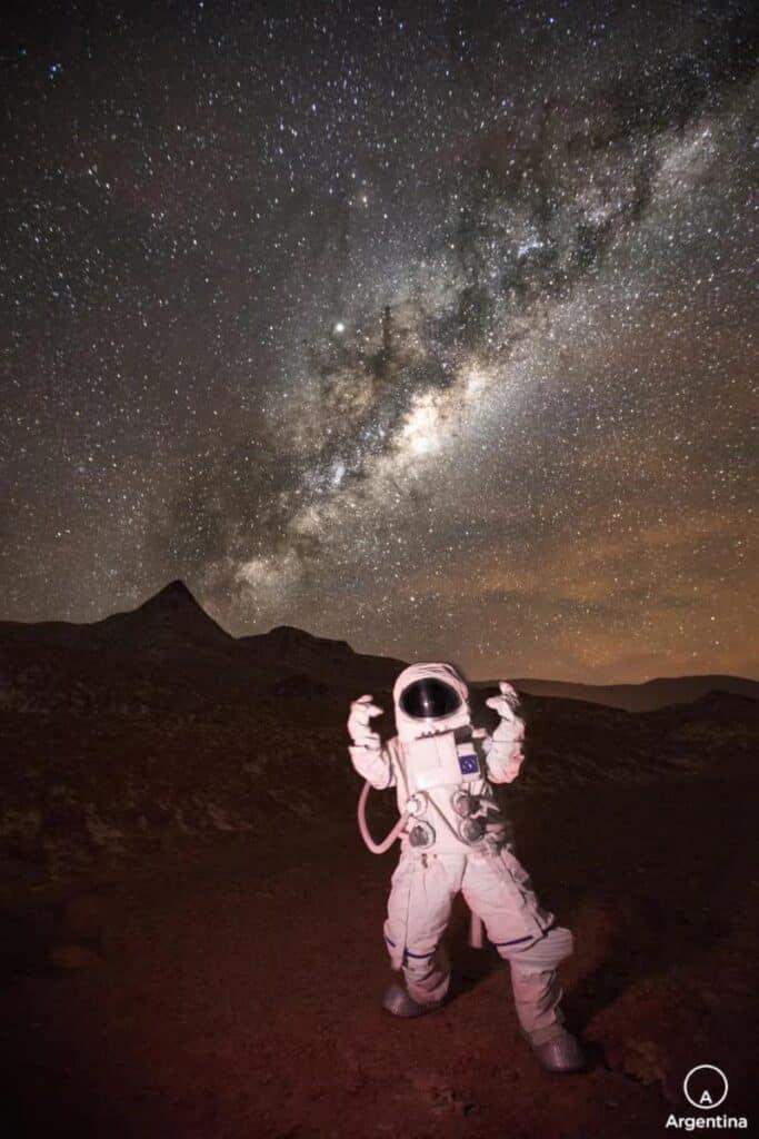 Astronauta En La Puna