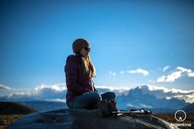 meditando en la patagonia argentina