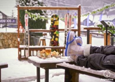 chinelo da neve
