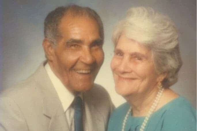 Don Millo Con Su Esposa, Andrea Pérez