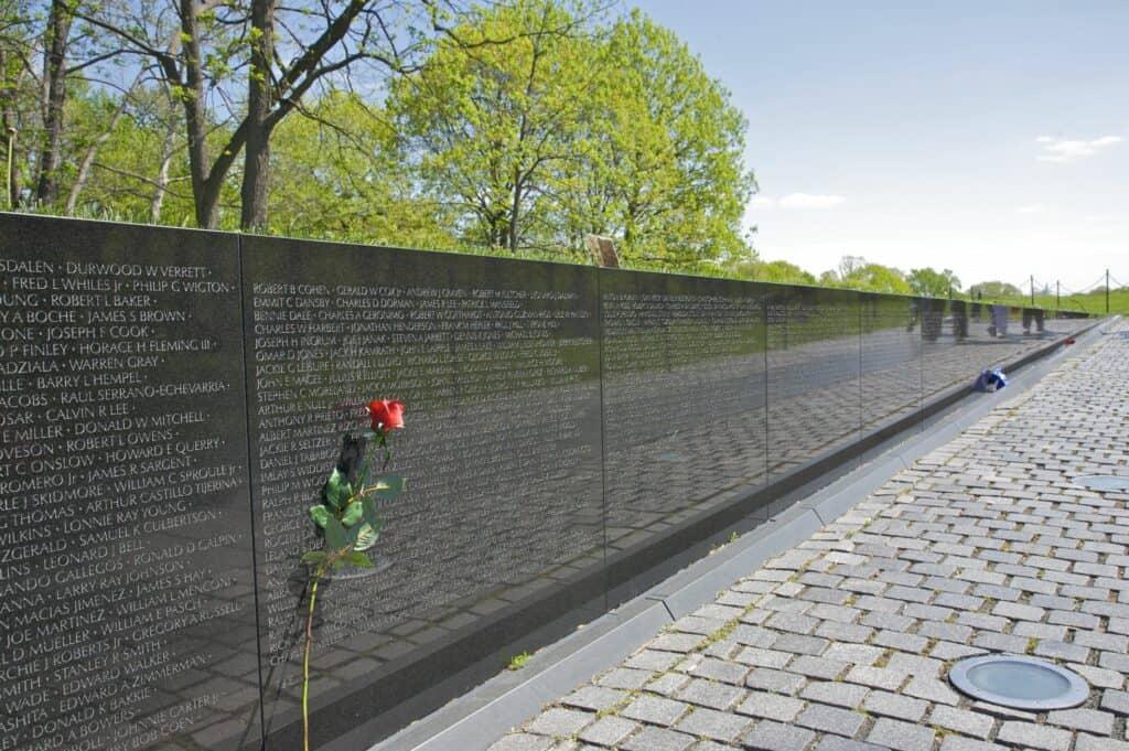 10 Lugares Que Visitar En Washington: El Vietnam War Memorial