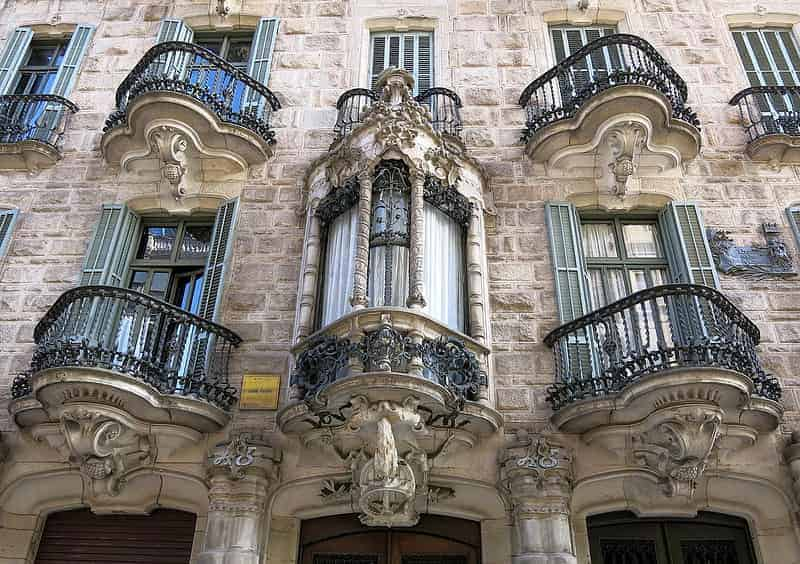 Obras-De-Gaudi-En-Barcelona