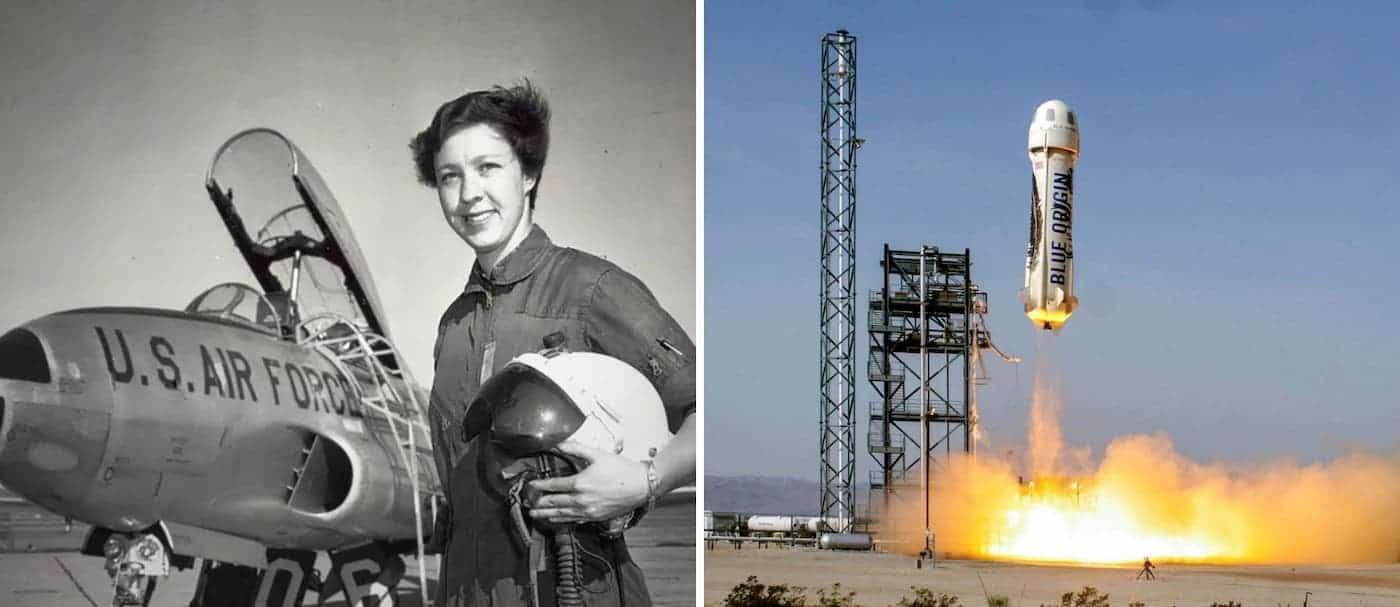 Una mujer que no pudo ser astronauta por su género va a viajar al espacio con Jeff Bezos y romperá un récord