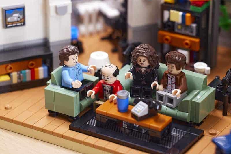 Edición Especial De Lego Para Seinfeld - Jerry, Elaine, George Y Kramer