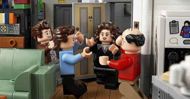 Edición Especial De Lego Para Seinfeld - Jerry, Elaine Y George