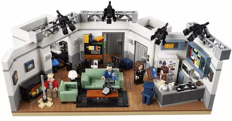 Edición Especial De Lego Para Seinfeld - Departamento De Jerry