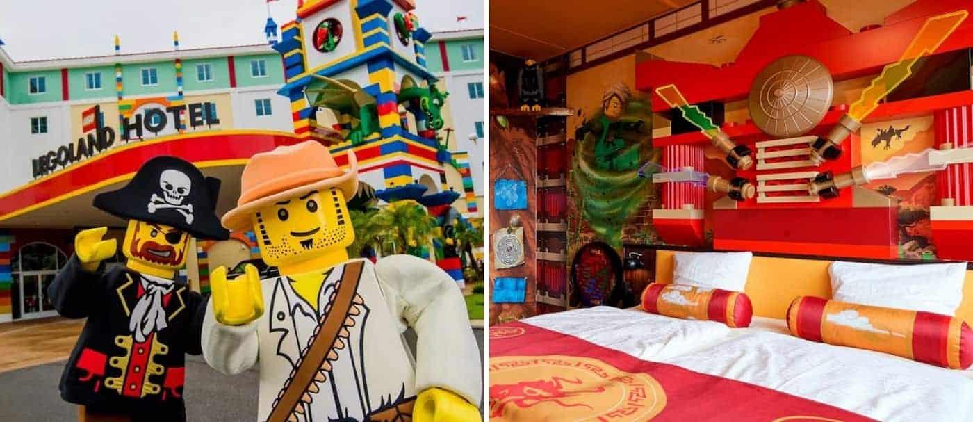 El hotel temático de LEGO abrirá sus puertas en Nueva York, Estados Unidos, en menos de un mes