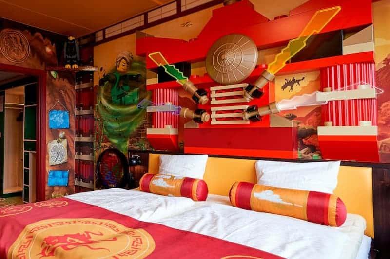 Habitación Del Hotel Temático De Lego
