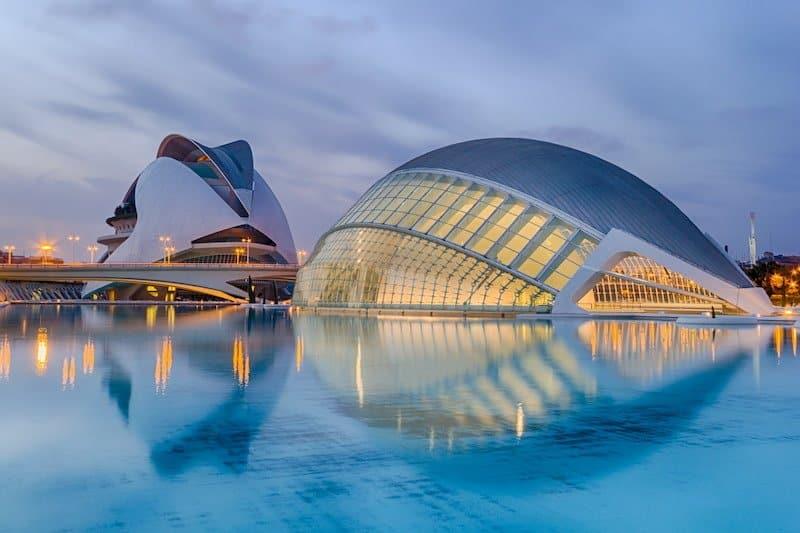 Imagen Lugares Impresionantes En Valencia Ciudad De Las Artes Y Las Ciencas Valencia