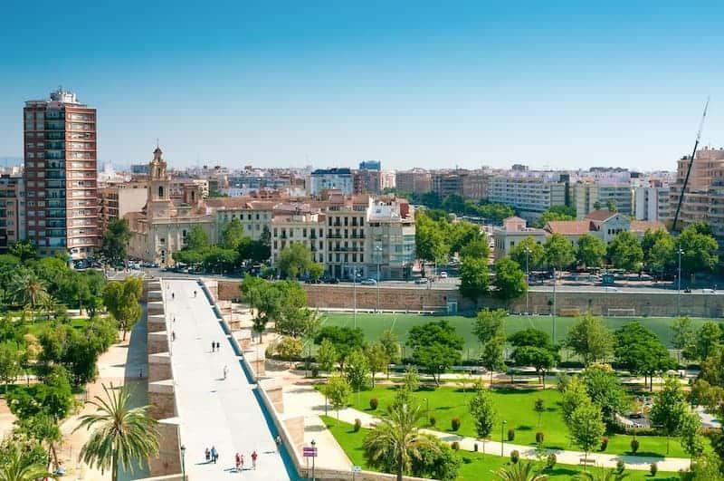 Lugares De Valencia Que No Te Puedes Perder: Jardín Del Turia