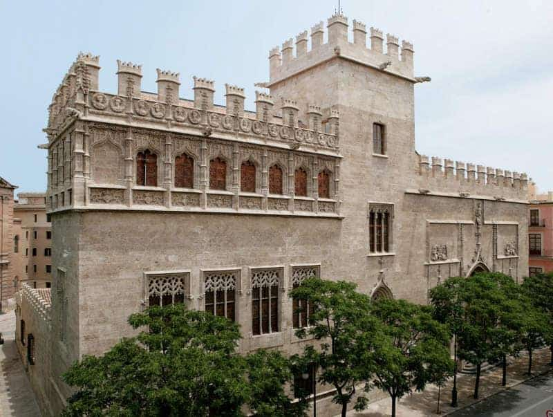 Lugares Para Visitar En Valencia: Lonja De La Seda