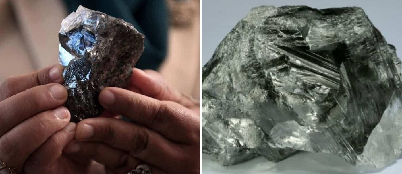En Botswana encontraron un nuevo diamante enorme, esta vez de 1.174 quilates