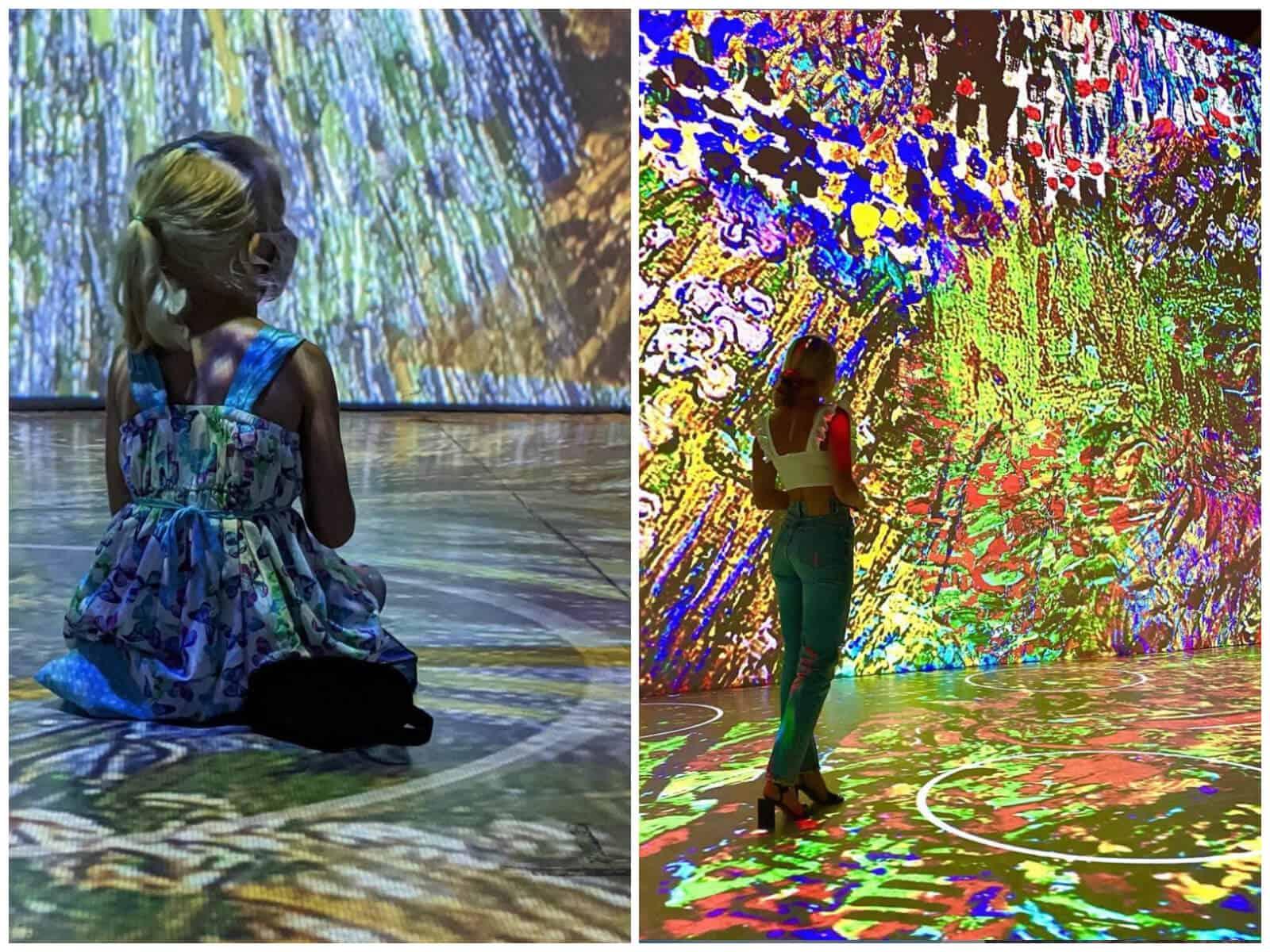 puedes hacer yoga 'dentro' de una pintura de Van Gogh