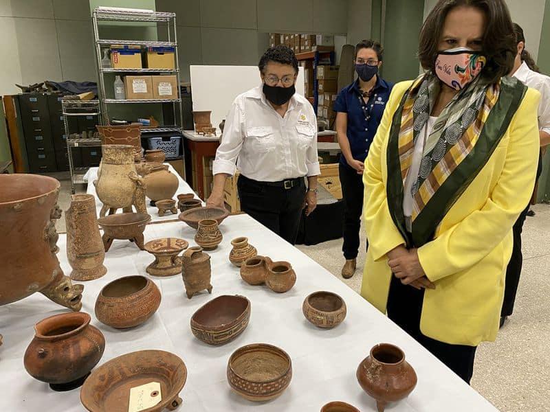 El Museo de Brooklyn devuelve más de 1300 piezas prehispánicas a Costa Rica