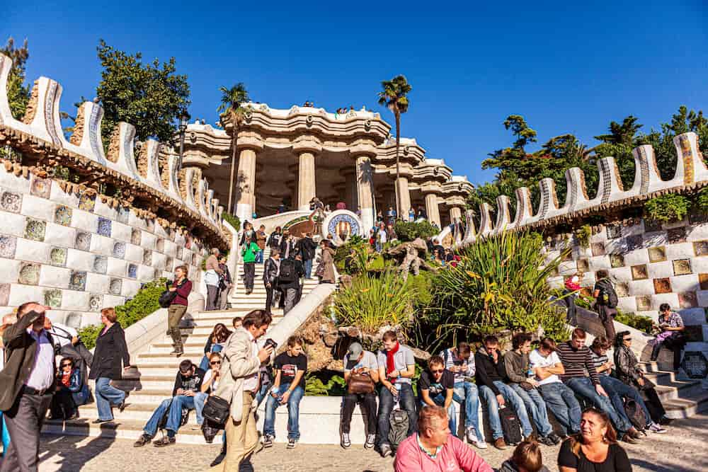 Obras de Gaudí en Barcelona