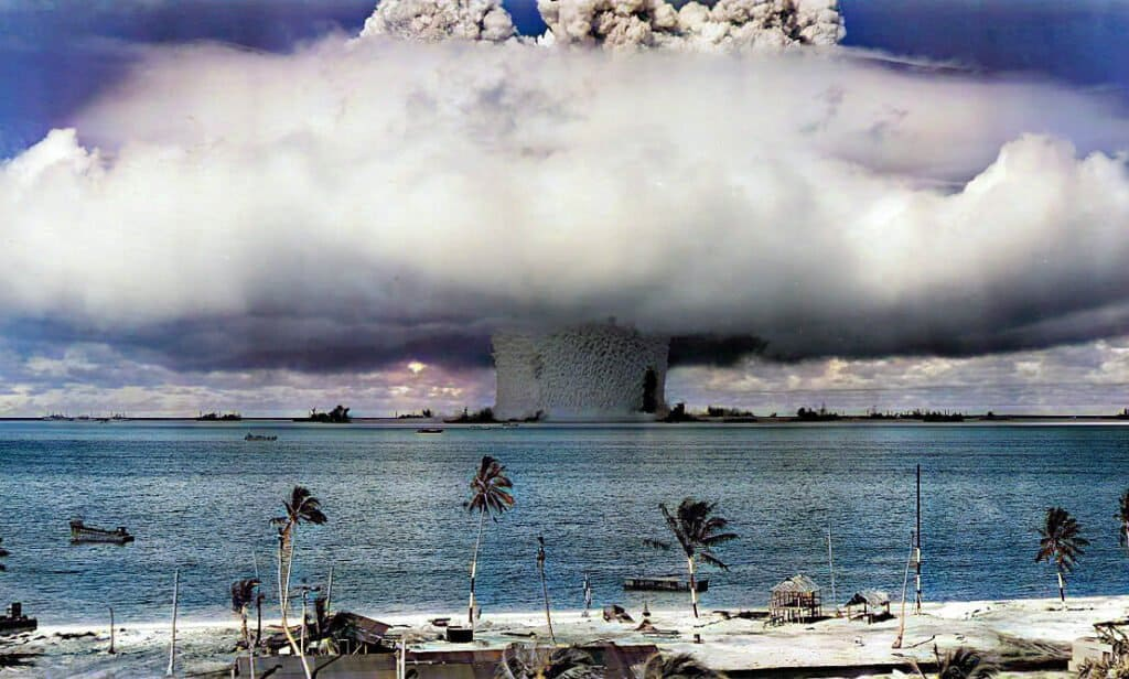 Islas Marshall Pacífico Nuclear