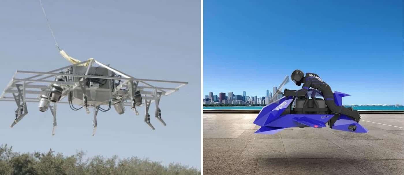 La primera motocicleta voladora completó su vuelo de prueba de forma exitosa