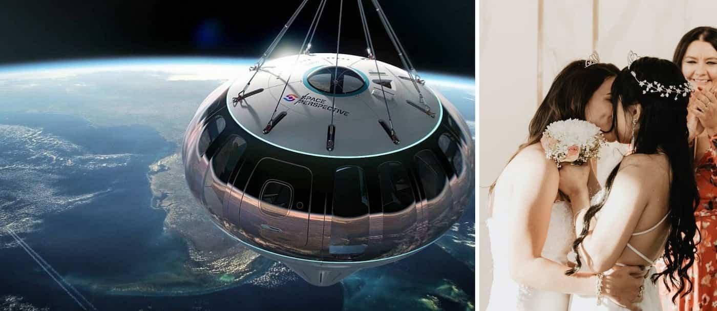 Tener una boda en el espacio es posible y ya están tomando reservas
