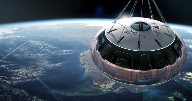 Boda En El Espacio En Un Globo Espacial De Space Perspective