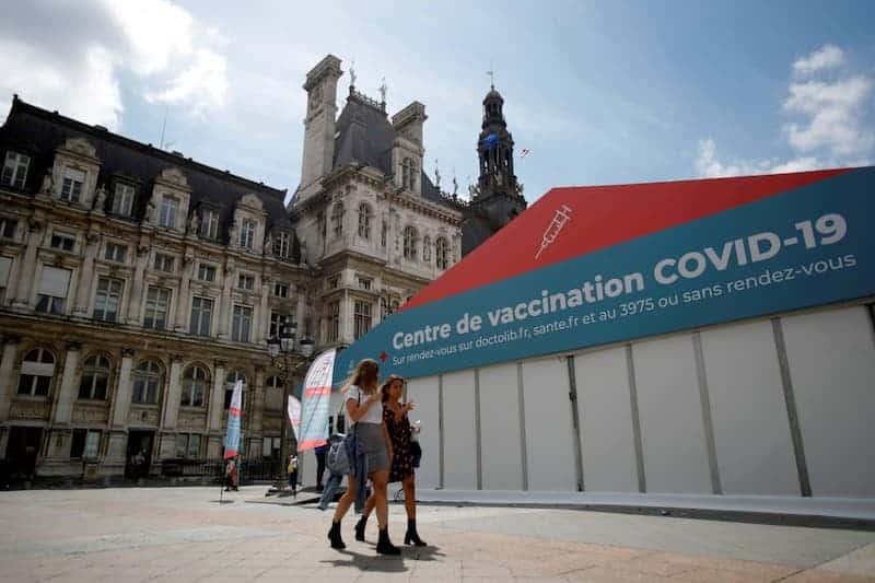 Centro De Vacunación - Francia