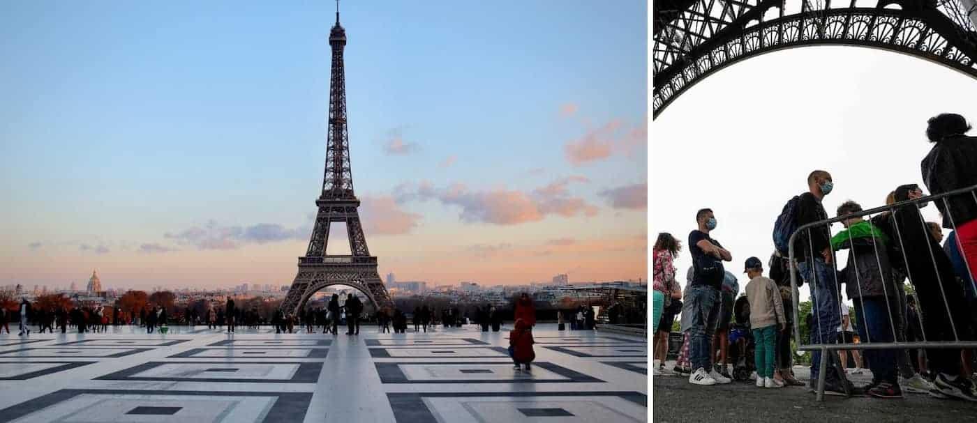 La Torre Eiffel volvió a abrir sus puertas al público luego de 8 meses