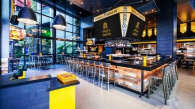 NBC Sports Grill & Brew at Universal CityWalk in Hollywood