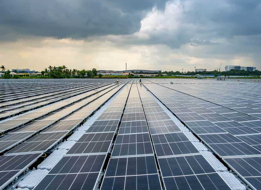 Singapur Abre Una Granja Solar Flotante De 122.000 Paneles